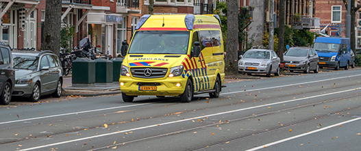 Ambulance rijden training