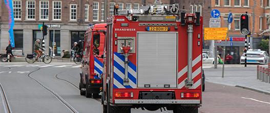 Hulpdienstraining brandweer